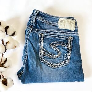 29x35 Tuesday Silver Jeans